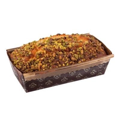 Fıstıklı Frambuazlı Kutu Kek